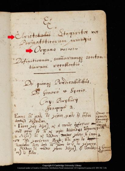 Ο Ισαάκ Νεύτων αντέγραψε τον Αριστοτέλη!